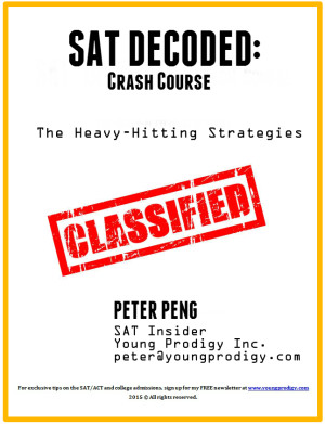 SAT Decoded Crash Cover Cover Page